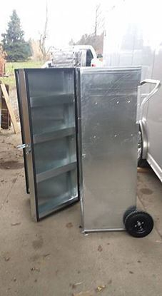 picture of galvanized steel box