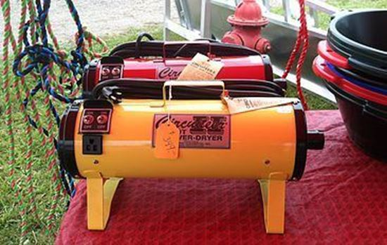 warm air blower